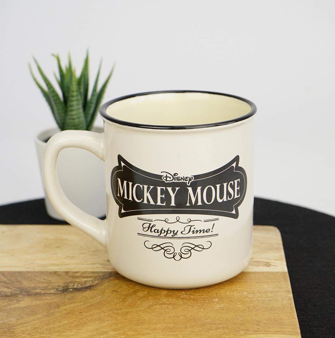 tasse mickey  minnie vintage happy time  mickey vintage