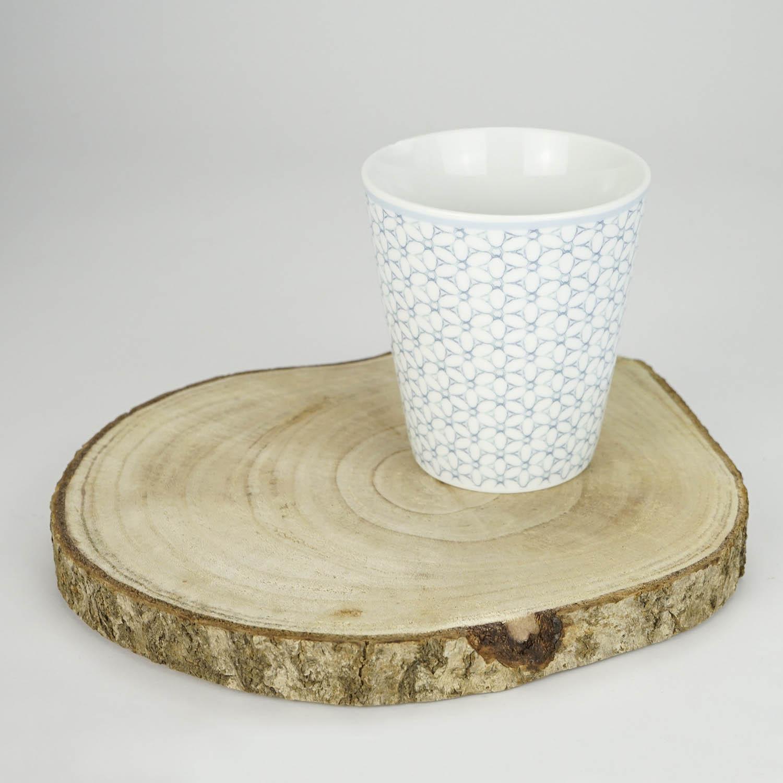 kaffeebecher skandinavien blume 300ml  tassen