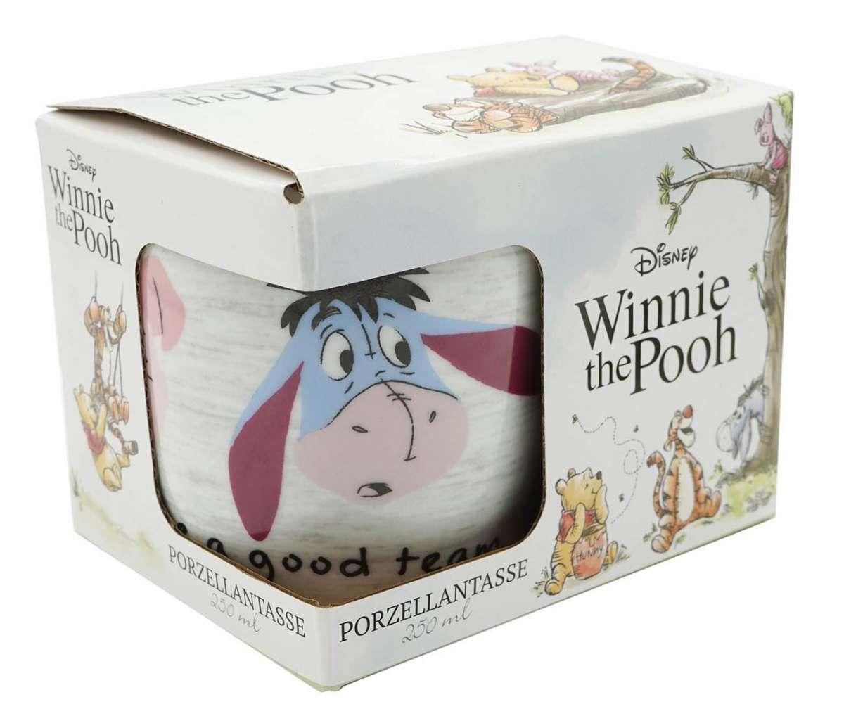 tasse winnie pooh good team 250ml  winnie pooh  disney