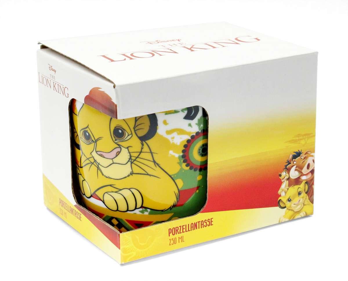 tasse könig der löwen simba 250ml  disney  filmhelden